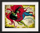 Marvel Comics Retro: The Amazing Spider-Man Comic Panel, Medusa (aged) Prints
