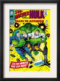 Tales to Astonish 83 Cover: Hulk and Thunderbolt Ross Posters by Dick Ayers