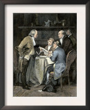 Committee Writing the Declaration of Independence, c.1776 Posters