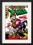 X-Men Annual 3 Cover: Cyclops, Arkon and X-Men Prints by Frank Miller