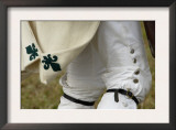 Detail of French Soldier's Uniform at a Reenactment on the Yorktown Battlefield, Virginia Prints