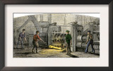 Vulcan Iron Works in Carondelet, Missouri, 19th Century Prints