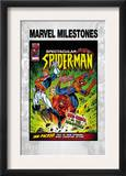 Marvel Milestones 6 Cover: Captain Britain, Spider-Man and Red Skull Print by Jon Haward