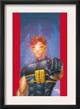 Ultimate X-Men 1/2 Cover: Cyclops Art by Aaron Lopresti