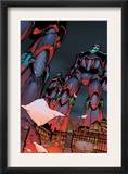 Decimation: House Of M Day After 1 Cover: Sentinel Crouching Prints by Randy Green