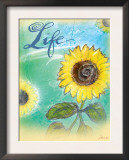 Sunflower Life Posters by Flavia Weedn