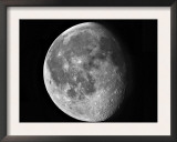 Waning Moon Print by  Stocktrek Images