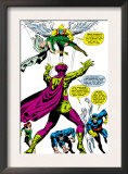 X-Men 50 Group: Mesmero, Angel, Cyclops, Iceman, Beast, X-Men and Marvel Girl Prints by Jim Steranko