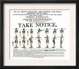 Recruitment Poster for Continental Soldiers to Serve in the American Revolution Posters