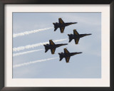 The Blue Angels Prints by  Stocktrek Images