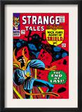 Strange Tales 146 Cover: Dr. Strange and Eternity Posters by Steve Ditko