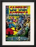 Marvel Comics Retro: Captain America Comic Book Cover 101, Red Skull (aged) Poster