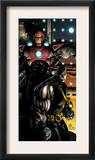 Ultimate War 3 Cover: Iron Man and Colossus Posters by Chris Bachalo