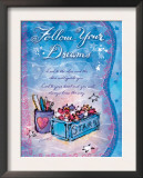 Follow Your Dreams Print by Flavia Weedn