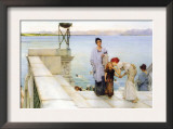 A Kiss Posters by Sir Lawrence Alma-Tadema