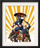 Marvel Knights Captain America 24 Cover: Captain America and Nick Fury Poster by Dave Johnson