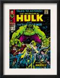 Marvel Comics Retro: The Incredible Hulk Comic Book Cover 101, with the Sub-Mariner (aged) Posters