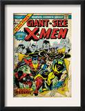 Marvel Comics Retro: The X-Men Comic Book Cover 1 (aged) Print