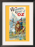 Thewonderful Game of Oz Posters by John R. Neill