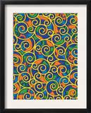 Texture, Swirls Posters