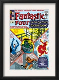 The Fantastic Four 17 Cover: Mr. Fantastic Prints by Jack Kirby