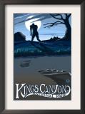 Kings Canyon Nat'l Park - Bigfoot - Lp Poster, c.2009 Posters by  Lantern Press