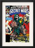 Secret Wars 10 Cover: Dr. Doom Art by Mike Zeck