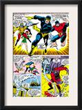 X-Men 43 Group: Cyclops, Beast, Angel, Iceman, Magneto, X-Men and Marvel Girl Posters by George Tuska