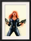 Black Widow 6 Cover: Black Widow Posters by Sean Phillips