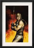 Thor Son Of Asgard 2 Cover: Thor Print