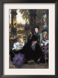 A Widow Print by James Tissot