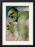 Hulk & Thing: Hard Knocks 1 Headshot: Hulk Charging Poster by Jae Lee