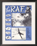 WWII RAF Spitfire Pilots Recruiting Posters