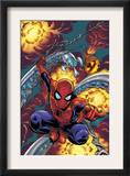 Friendly Neighbourhood Spider-Man 1 Cover: Spider-Man Charging Posters by Mike Wieringo