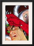 Doc Ock: Negative Exposure 4 Cover: Doctor Octopus and Spider-Man Print by Tony Harris
