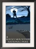 Rocky Mountain National Park, Co - Bigfoot, c.2009 Prints by  Lantern Press