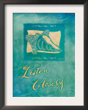 Listen Closely Poster by Flavia Weedn