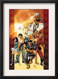 Ultimate X-Men 84 Cover: Wolverine, Bishop, Angel, Storm, Pyro, Dazzler and Psylocke Posters by Yanick Paquette