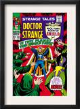 Strange Tales 160 Cover: Dr. Strange and Baron Mordo Poster by Marie Severin