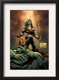 Hulk 18 Cover: Doc Samson, Hulk and Rulk Posters by Whilce Portacio