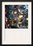 Venom: Dark Origin 3 Group: Hulk, Spider-Man, Dr. Doom and Captain America Prints by Angel Medina