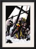 The Order 10 Cover: Anthem, Veda, Calamity and Aralune Prints by Barry Kitson