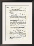 Draft of the Declaration of Independence in Jefferson's Handwriting, Page 3 Art
