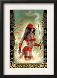 Elektra 33 Cover: Elektra Poster by Tom Fleming