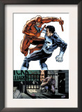 Daredevil Vs Punisher 1 Cover: Daredevil and Punisher Prints by Dave Lapham