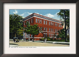 Binghamton, New York, Exterior View of the NY Telephone Building on Henry Street Prints