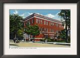 Binghamton, New York, Exterior View of the NY Telephone Building on Henry Street Prints