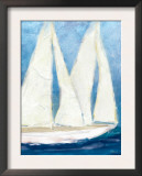 The Sailboat Cruise Posters by Flavia Weedn