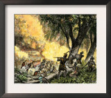 General Wayne's Victory at the Battle of Fallen Timbers, c.1794 Prints