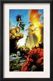 Fantatic Four: House Of M 1 Cover: Fantastic Four Prints by Scot Eaton